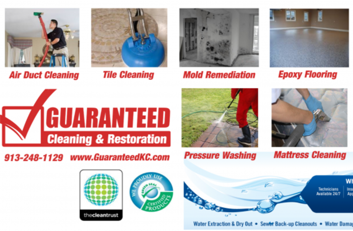Headline for Guaranteed Cleaning & Restoration: Carpet Cleaning & Water Damage Restoration