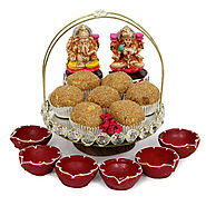 Celebrate Healthy Diwali with Tasty & Flavored Mithai Hampers