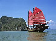 Phang Nga Bay Cruise in a Chinese Junk
