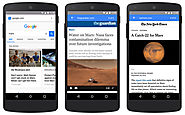 Google Introduces Accelerated Mobile Pages To Keep Content On The Web