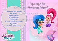 Shimmer and Shine Birthday Party Ideas and Themed Supplies