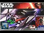 "Star Wars The Force Awakens 3.75"" First Order Special Forces Tie Fighter Review"