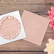 Wedding Invitation Trend: Laser Cut Invites | Wedding Club