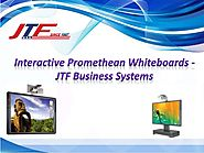Interactive Promethean Whiteboards - JTF Business Systems
