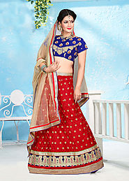 Buy Online Indian Anarkali Suits, Wedding Sarees and Lehengas
