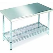 Amazon.com: Commercial Stainless Steel Work Prep Table 24 x 96 NSF Certified: Industrial & Scientific