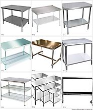 Best Stainless Steel Prep Table Reviews 2015 | Stainless Steel Work Tables with Drawers, Wheels and Sink | Listly List