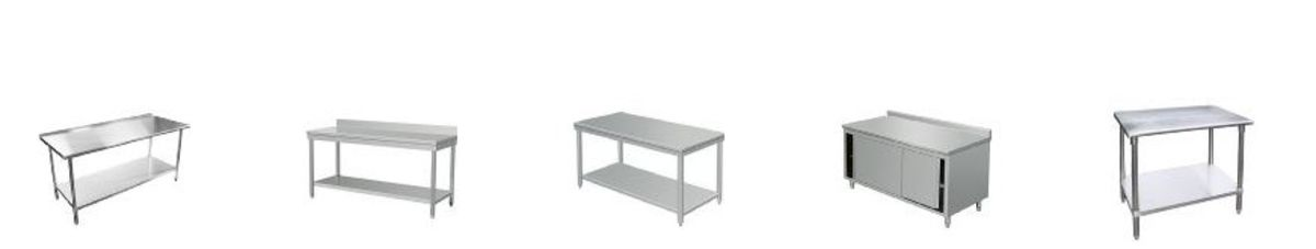 Headline for Best Stainless Steel Prep Table Reviews 2020 | Stainless Steel Work Tables with Drawers, Wheels and Sink