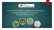 The Vision of Avast Hydrocolloid is to Provide Best Quality Guar Products