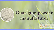 Simple Guar Gum Powder Versatility & Why Food Industry Use!