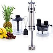 Best 4 in 1 Heavy Duty Hand Blender: Immersion Stick Blenders