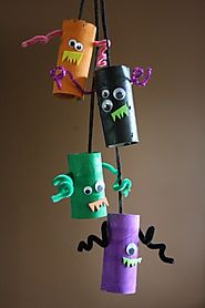 Monster Mobile Toilet Roll Craft