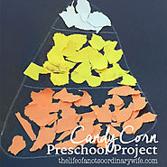 Candy Corn Preschool Project