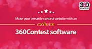 Start your own multi-use contest website with our 360Contest software