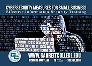 Garrett College Continuing Education & Workforce Development offers courses to help small businesses