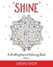 Shine (A Jewellery Inspired Colouring Book) (Volume 1)