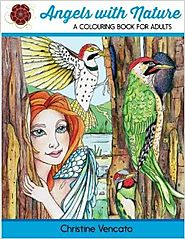 Angels with Nature: A Colouring Book for Adults Paperback – April 12, 2016