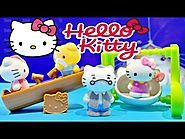 Hello Kitty Vellutata Sweetie Swing & See Saw Scene Playset Toys ハローキティ おもちゃ