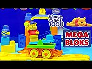 Winnie the Pooh Mega Bloks Disney Buildable Train Station Toy Build the World Building Blocks Toy
