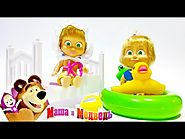 Masha I Medved ★ Masha and the Bear NEW Playsets Toys Video ★ Masha y el Oso 2015