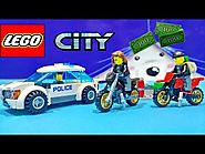 Police Car Toys Lego For Kids LEGO City 60042 High Speed Police Chase ★ Policía Juguetes Videos