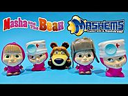 Masha and the Bear Toys Mashems Series 1 Super Squishy Toys Video ★ Маша и Медведь 2015 Игрушки