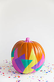 DIY TISSUE COVERED PUMPKIN - Tell Love and Party