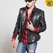 CWMALLS Mens Motorcycle Jacket CW850231