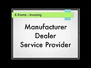 Online Excise Invoicing using E-Formz