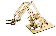 meArm Mini Industrial Robotic Factory Arm Deluxe Kit