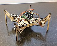 Meped Mini Quadruped Robot Deluxe Kit - Arduino Hexapod Robotic Walker