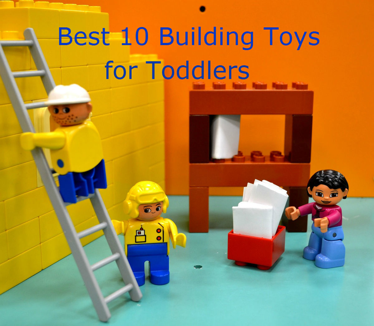 Headline for Best 10 Building Toys for Toddlers 2015