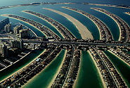 Luxurious villas at the Palm Jumeirah