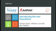 Introducing the New SharePoint (Channel 9)