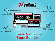 Yo!Kart is a multi-vendor system to build ecommerce stores like Ebay & Etsy.