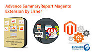 "Elsner's Magento Extension: ""Advance Summary Report"""