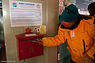 Mail a Letter at Port Lockroy