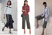 How to Wear Culottes and Not Look Awkward