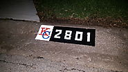 LTs Reflective Technology- Custom Curb Numbers, Wood Plaques and License Plates