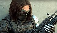 How did Sebastian Stan get his metal arm on during the filming of Captain America: The Winter Soldier? - Quora