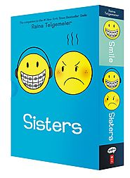 Smile and Sisters: The Box Set Paperback by Raina Telgemeier