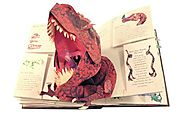 Encyclopedia Prehistorica Dinosaurs: The Definitive Pop-Up Hardcover by Robert Sabuda and Matthew Reinhart