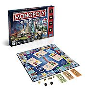 Monopoly Here & Now Game: US Edition by Hasbro