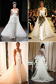 Our Top 10 Trends from Spring 2016 New York Bridal Fashion Week | OneFabDay.com