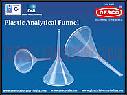 Plastic Analytical Funnel Suppliers India | DESCO