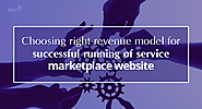Choosing right revenue model for successful running of service marketplace website