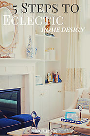 5 Steps to Designing An Authentic Eclectic Home Space - Pink...