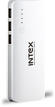 Power Bank for Mobile: Intex Power Bank 11K with Torch