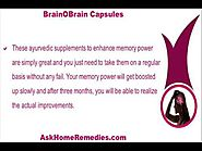 Ayurvedic Supplements To Enhance Memory Power In Adults Naturally