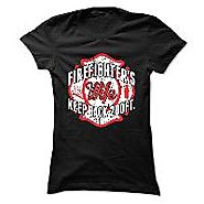 Firefighter Wife Keep Back 200ft Womens